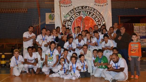Maracaju, teve  Roda, Berimbau e muito agito na Copa de Capoeira