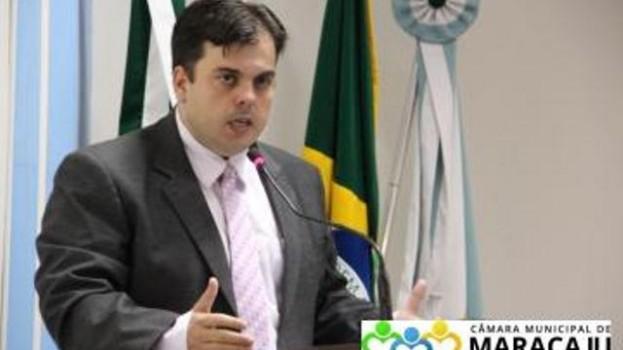 Vereador Robert Ziemman de Maracaju sofre acidente em Sidrolândia