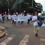 Nesta terceira feira dia 13, o grupo da Terceira Idade realizou uma caminhada pelas ruas centrais de Maracaju