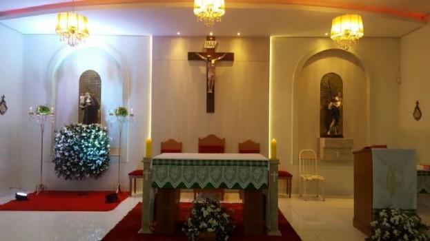 Capela Santo Antônio em Maracaju terá bolo de 7 metros e aliança
